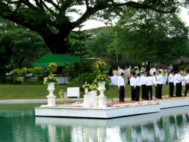 Yats clearwater resort country club clark freeport zone best wedding venue in pampanga offers several outdoor venues for garden styled reception highly recommended by wedding planners and event organizers from junglespirit Images