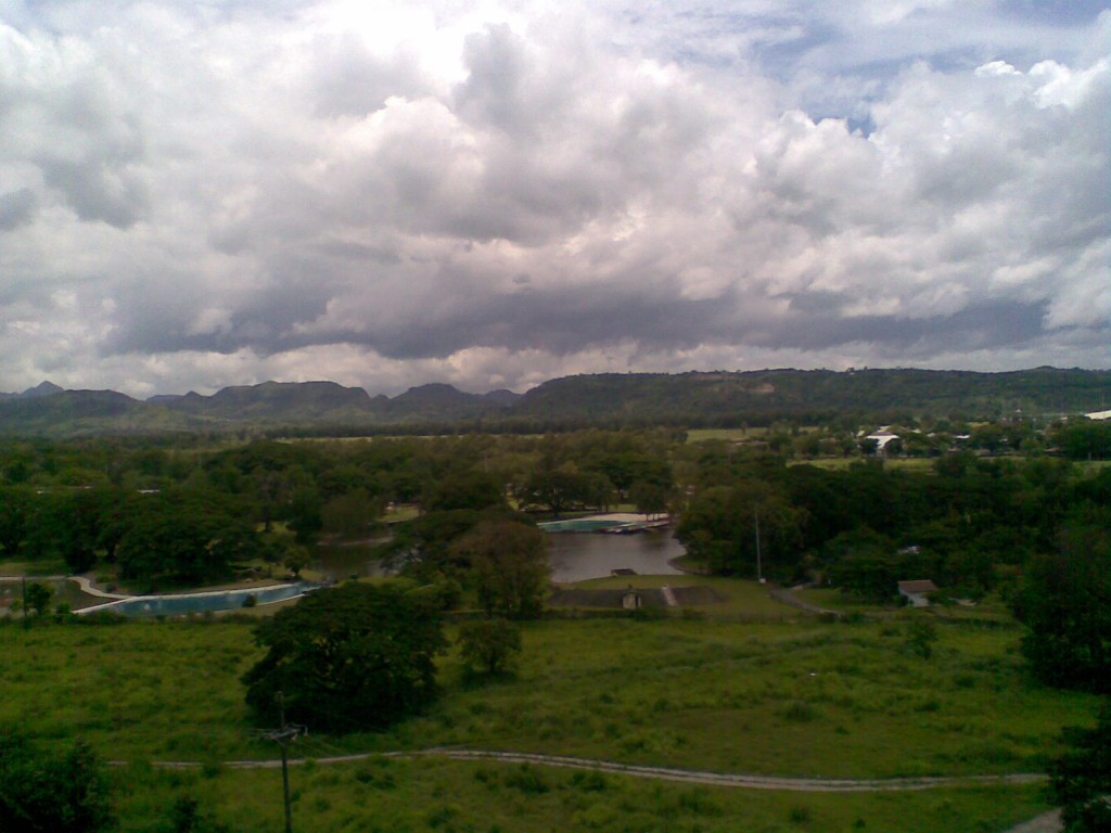 Clearwater Resort Overhead View in Clark Pampanga