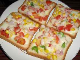 Easter Egg Hunt Clearwater Breakfast Vegetarian item: Garden Fresh Toast