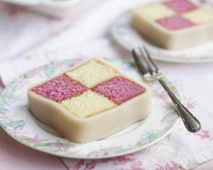 Easter at Clearwater Resort High Tea Battenburg Cake