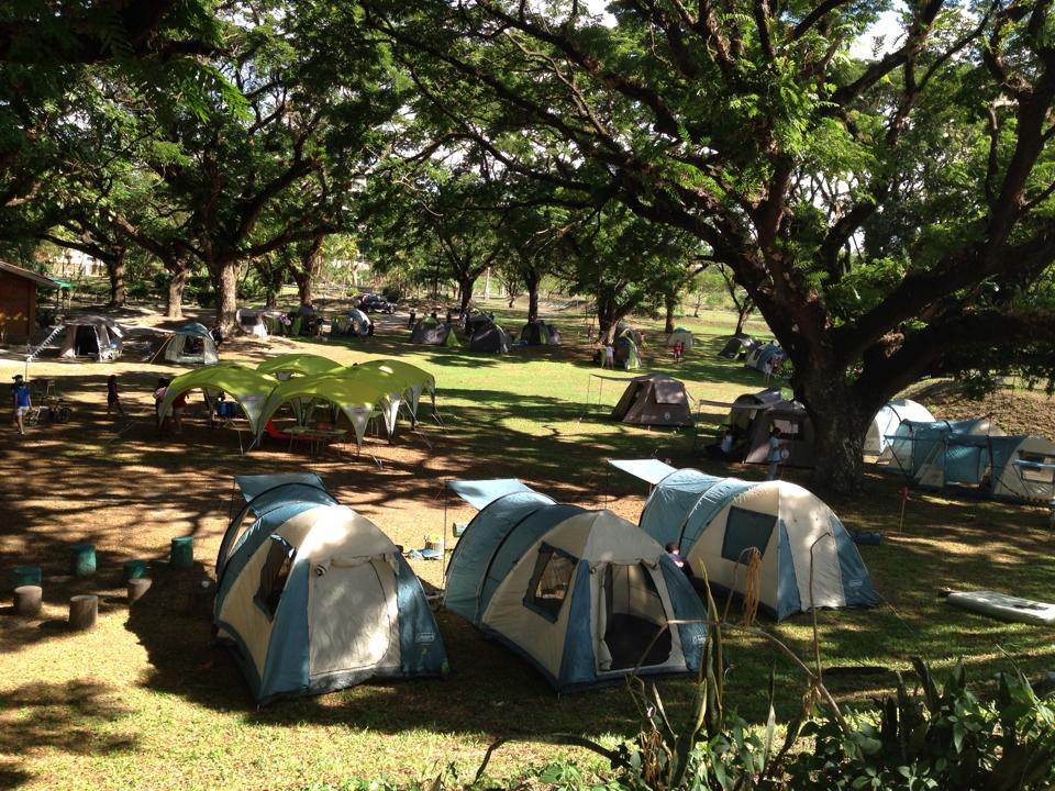 Glamping in Philippines Tents at Clearwater Resort