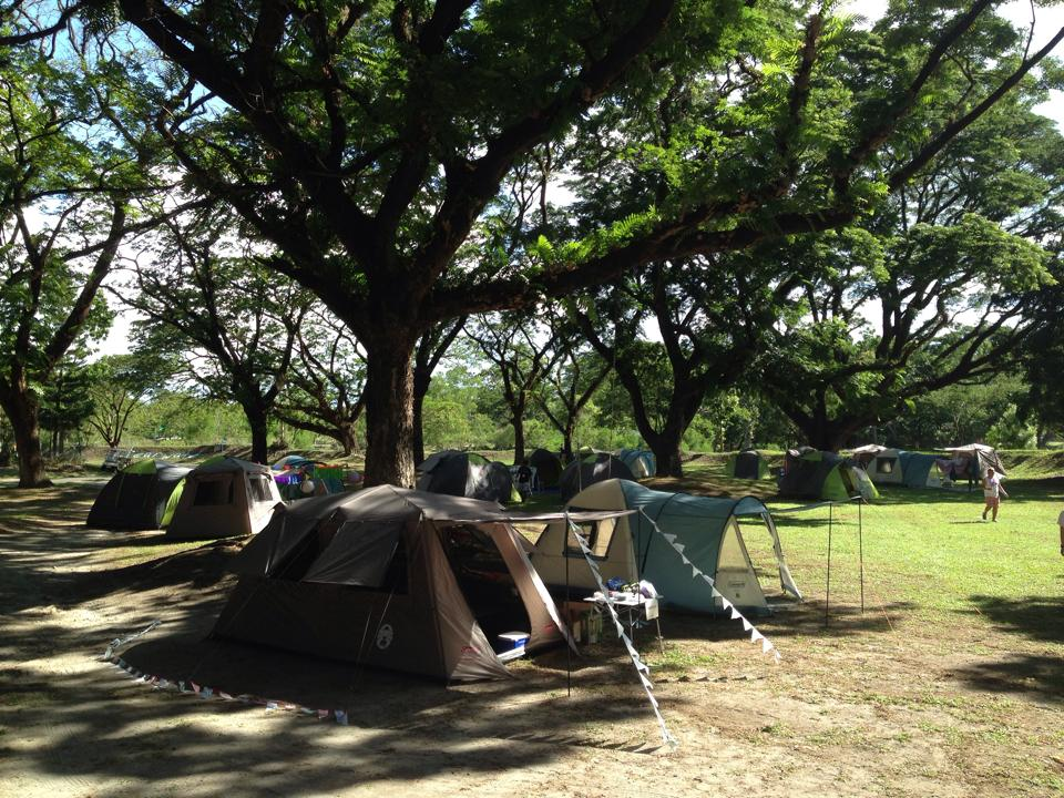 Glamping in Philippines safe clean camp sites at Clearwater Resort near Manila