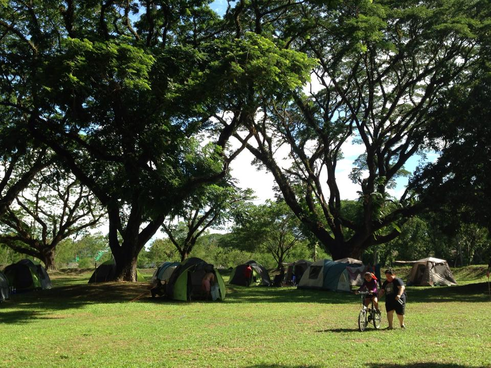 Glamping in Philippines Shading camping grounds Clearwater Clark Pampanga
