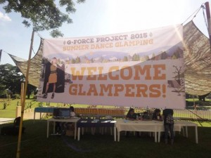 Camping in Clark Pampanga at Clearwater by GFORCE